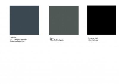 Planche sélection couleurs